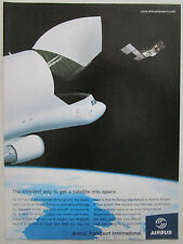 7/2003 PUB AIRBUS TRANSPORT INTERNATIONAL BELUGA SATELLITE ORIGINAL AD