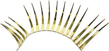 Gold Car Lashes (R) Headlight Eyelashes Accessories 3M Sticker for Chevrolet