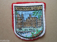 Caernarvon Castle Woven Cloth Patch Badge
