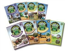 TRACTOR TED NEW 2 DVD SET - CHILDRENS FARMING COWS HORSES BIG MACHINES ANIMALS
