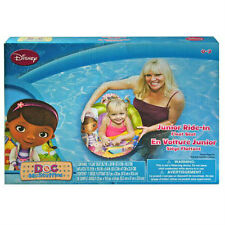 DISNEY Doc McStuffins JUNIOR RIDE IN BABY SWIM RING TUBE POOL FLOAT SEAT 0-3 NEW