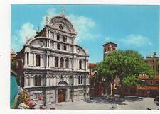 Venezia Campo e Chiesa S Zaccaria Italy Postcard 474a