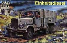 """ZV Models #72001, Scale 1:72, """"Einheitsdiesel Wehrmacht Cargo truck"""""""