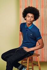 Hymn Fowey Polo Shirt - Blue - Medium - Box6308 U