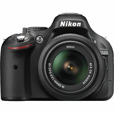 Nikon D5200 DSLR Camera with AF-S 18-55mm VRII Kit Lens (SMP2)