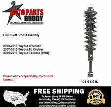 (1) FJ 4Runner Tacoma Left Front Complete Strut Lifetime Warranty w/Shipping