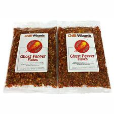 Dried Chilli Naga Bhut Jolokia Flakes - Ghost Pepper Chili Highest Quality 100g