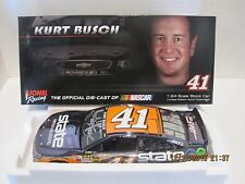 KURT BUSCH 2014 #41 STATE WATER HEATERS COLOR CHROME AUTOGRAPHED 1/24