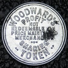 WOODWARD'S VANCOUVER - Good For Merchandise - Profit Sharing Token - NCC