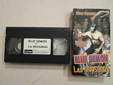 Tested ! Blue Demon Contra Las Invasoras *Spanish VHS Wrestling vs Space Aliens
