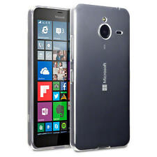 Slim Rubber Gel Case Cover for Microsoft Lumia 640 XL - Clear (only for Black 64
