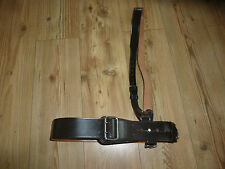 SAM BROWN BELT WITH CHROME BUCKLE AND FITTINGS BRITISH ARMY ISSUE