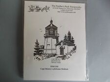 PEDDLER'S PACK RUBBER STAMPS CLING CAPE MEARES LIGHTHOUSE STAMP