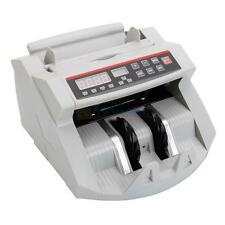 New Money Bill Cash Counter Bank Machine Currency Counting UV & MG Counterfeit