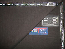 60%KID MOHAIR &40%WOOL SUITING FABRIC MADE IN ENGLAND BY William Halstead–3.4 m