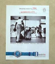 E746- Advertising Pubblicità -1995- SWATCH OROLOGIO SCUBA 200 , WATERDROP