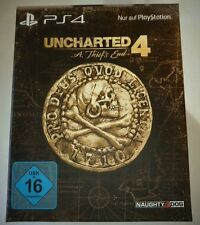 Uncharted 4 A Thief's End Steelbook Special Edition PS4 Playstation 4 NEU OVP