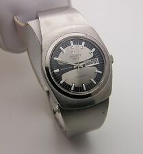 Vintage 1970's Tissot Seastar Day Date Automatic Stainless Bracelet Watch
