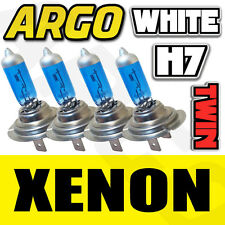 H7 XENON SUPER WHITE 55W BULBS DIPPED BEAM 12V HEADLIGHT HEADLAMP HID LIGHT X 4
