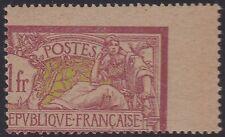 FRANCE N°121** Variété Superbe piquage à cheval  Signé Brun Cote Dallay : 325 €