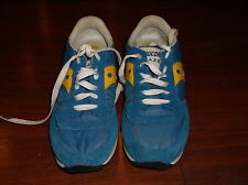 SAUCONY JAZZ BLUE GOLD SNEAKERS LADIES SZ 8.5 / 40