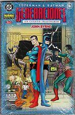 SUPERMAN & BATMAN: GENERACIONES de John Byrne. Colección completa de 4 prestigio