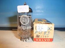 """Ecc83 Valvo 1,5/1,5 ma CODICE: i63/δ5k2 """"o"""" magnetiche NOS (159)"""