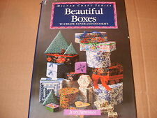 Beautiful Boxes To Create, Cover And Decorate - Judy Newman - As Photo