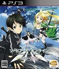 Used PS3 Sword Art Online Lost Song Import Japan Shipping Free