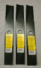 3 x Toro Ride-on Lawn Mower Blades- Toro 117192, 106077, 106636 - 42 Inch Cut
