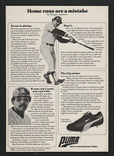 1978 REGGIE JACKSON - NEW YORK YANKEES - PUMA World Series Cleets VINTAGE AD
