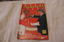 Arsenal vs Paok Salonika 1997/98 UEFA Cup 1st RND 2ND Leg Ian Wright Cover