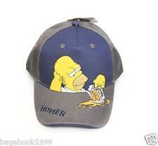 The Simpsons Homer Simpson With Beer Adjustable Baseball Cap / Hat  CAP55