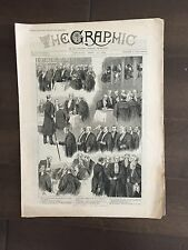 """""""THE GRAPHIC"""" (A Beautifully Illustrated British Weekly Newspaper)-Apr. 27, 1889"""