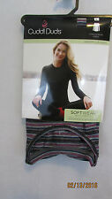 Cuddl Duds Softwear With Stretch Long Sleeve Crew Neck Women's Top sz Large NEW