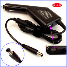 Laptop Car DC Adapter Charger + USB for Dell Latitude D505 D510 D520 D620 D630
