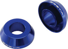 ZETA FAST REAR WHEEL SPACERS (BLUE) Fits: Yamaha YZ125,YZ250,YZ250F,YZ450F,WR250