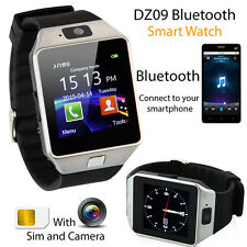 SmartWatch DZ09 Armbanduhr Bluetooth iOS Android für Samsung iPhone SIM Kamera