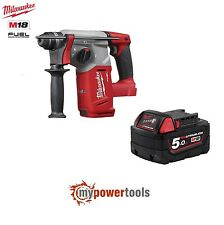 Milwaukee Fuel M18CH-0 18V 26mm SDS Brushless Hammer Drill + M18B5 5.0Ah Battery