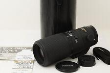 Nikon AF MICRO NIKKOR ED 200mm F4D IF Lens [Excellent] from Japan (06-J33)