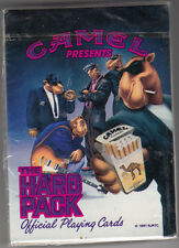 "CAMEL CIGARETTES ""THE HARD PACK""  PLAYING CARDS  ""UNSEALED"" 1991"