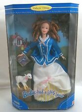 Barbie Had a Little Lamb Nursery Rhyme Collection 1998 Never Removed from Box