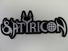 SATYRICON  EMBROIDERED BACK PATCH