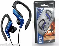 JVC HA-EB75 Sports EarHook Earphones Headphones Ideal for Walking Running Blue