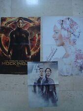 3 fantastic JENNIFER LAWRENCE magazine poster Hunger Games Josh Hutcherson
