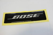 BOSE Crystal Bubble Top Logo Badge - Adhesive