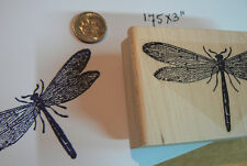 P3 Dragonfly Rubber Stamp WM 2.75x2