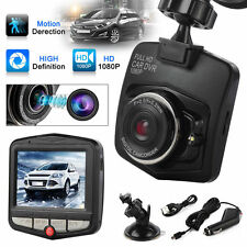 "DASHCAM 2.4"" FHD 1080P Car DVR camera auto video recorder audio BLACK NERO"