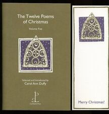 Carol Ann Duffy - The Twelve Poems of Christmas: Volume Five; SIGNED 1st/1st