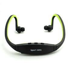 Sports Wireless Earphone Headphone Music MP3 Player 8G TF Card FM Radio Headset